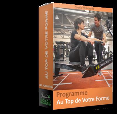 Programme rameur - top forme
